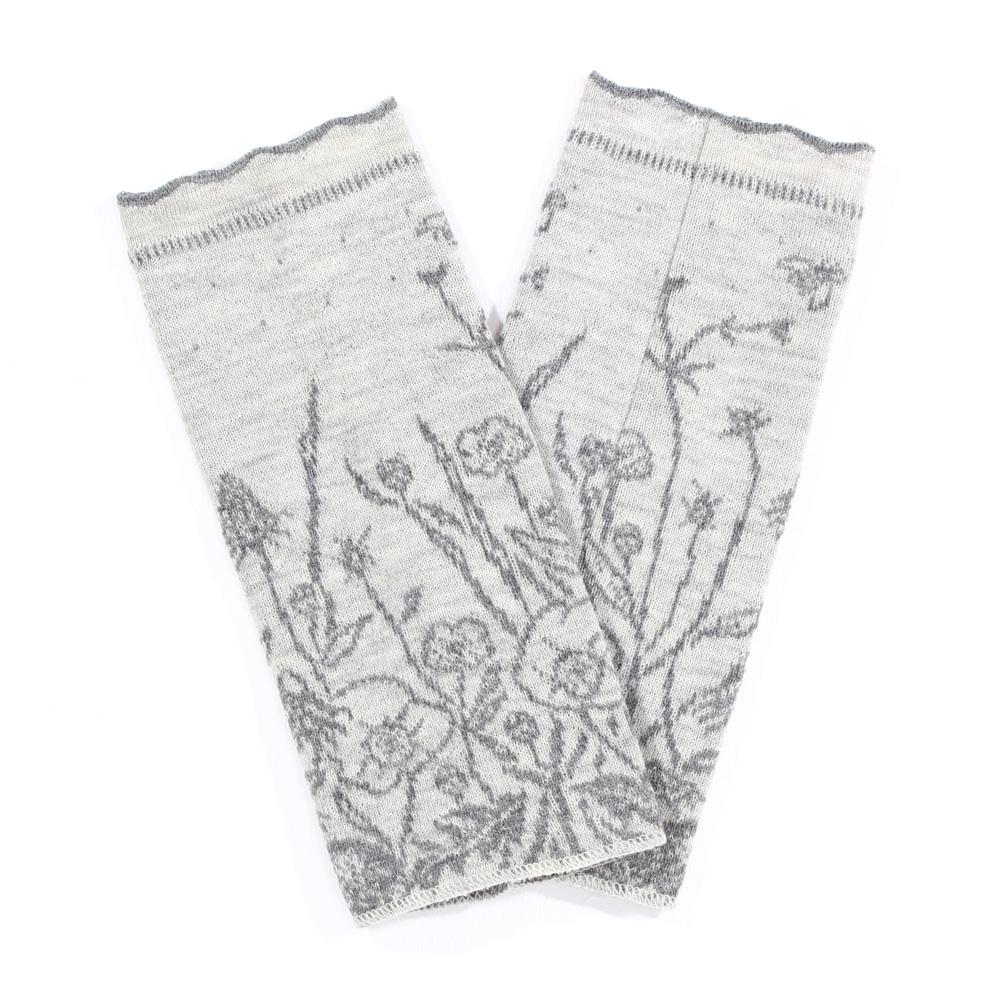 Beinstulpen Blumenwiese
