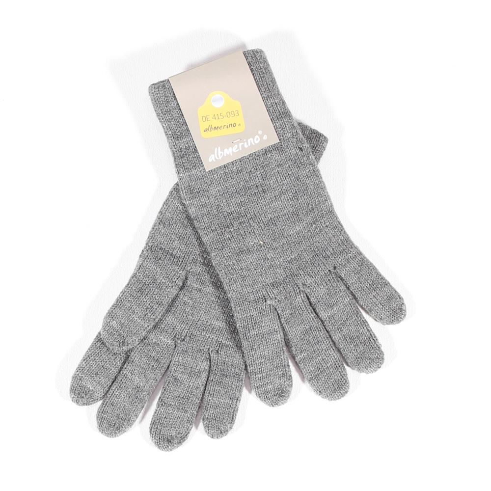 Damen Handschuhe | grau  mel.